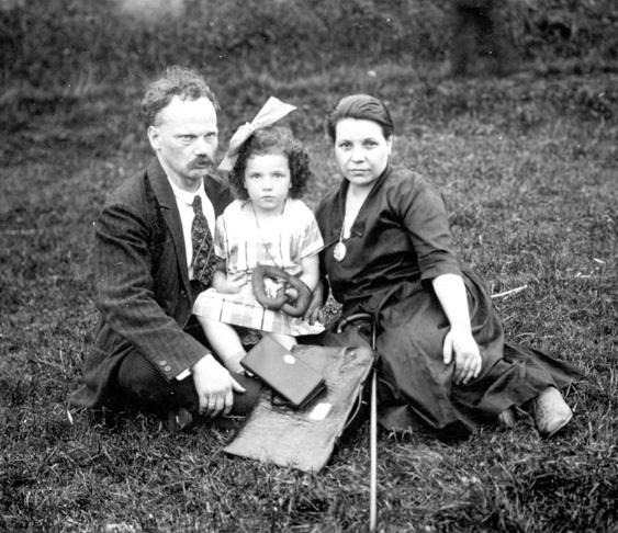Nicolaus Gensmann mit Familie