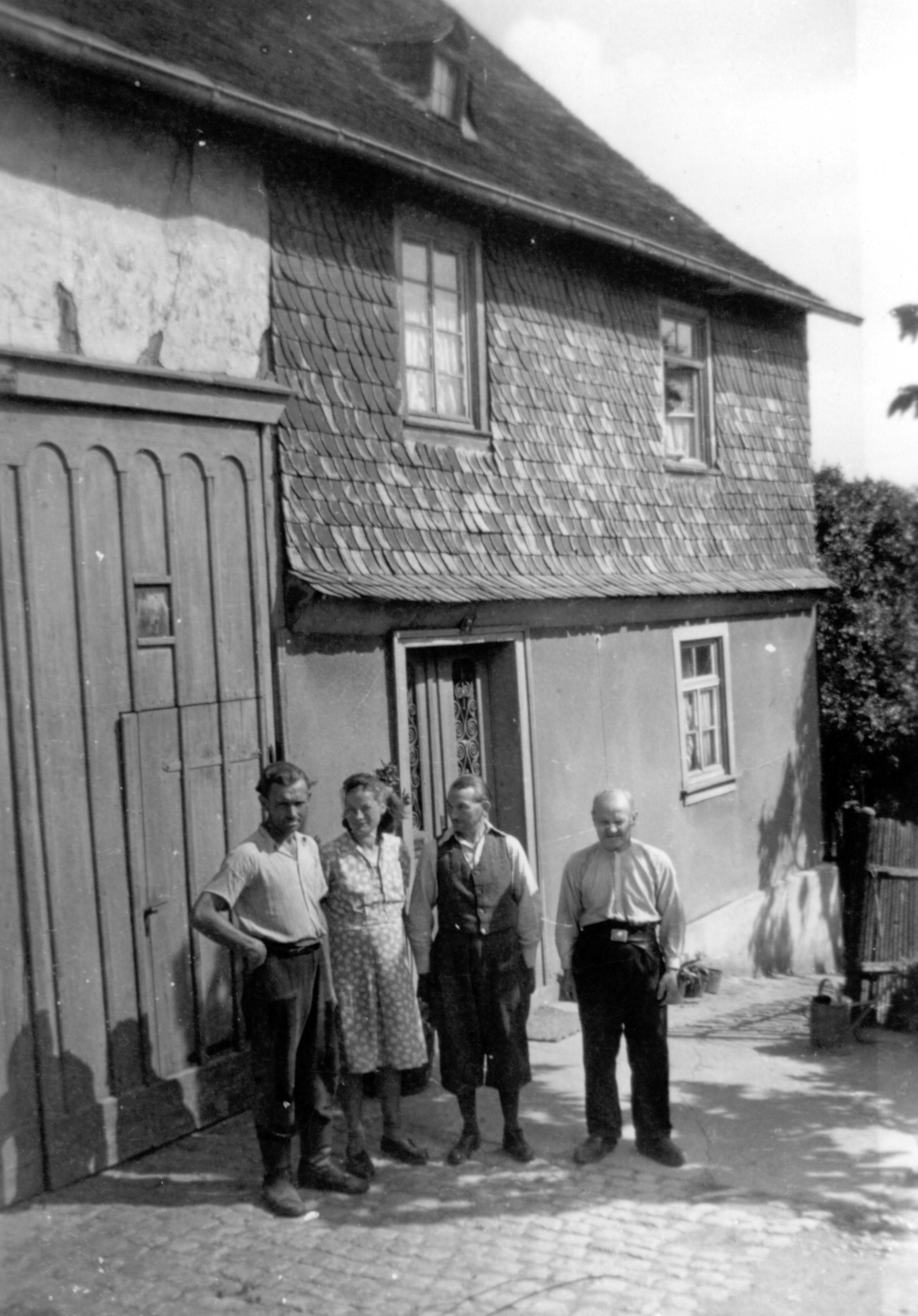 Oswald Genßmann, Gudrun Genßmann, Georg Haack, Gerhard Genßmann